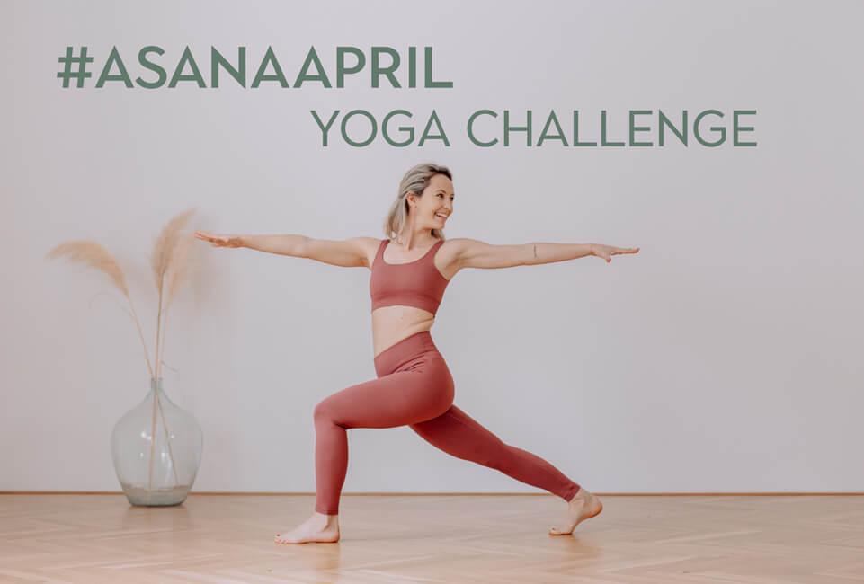 April Yoga Challenge